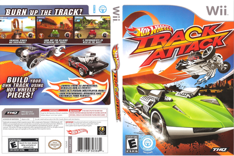 Hot Wheels Track Attack (Nintendo Wii & DS) - Unity Connect