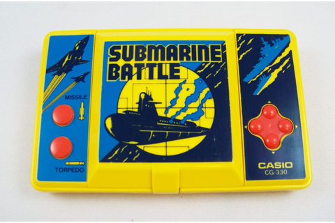Casio - Handheld Game - Submarine Battle CG-330 (loose)