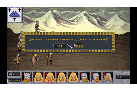 Hammer of the Gods (MS-DOS) Intro und Gameplay - YouTube