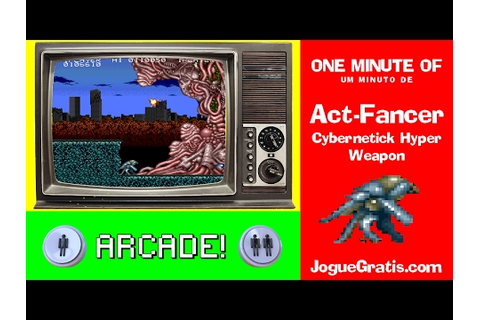 Act-Fancer - Cybernetick Hyper Weapon - YouTube