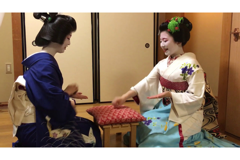 Geisha games.(Konpira fune fune) - YouTube