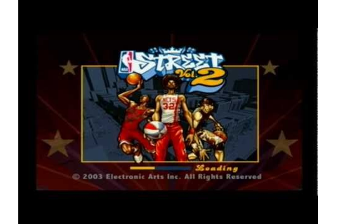 NBA Street Vol 2. (PS2) Gameplay - YouTube