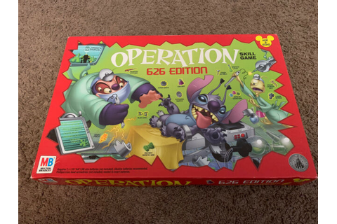 Disney Operation 626 Edition Stitch Theme Park Exclusive ...