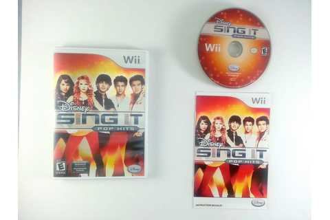 Disney Sing It: Pop Hits game for Wii (Complete) | The ...