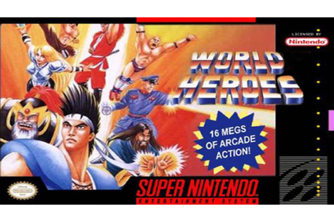 World Heroes (SNES) - YouTube