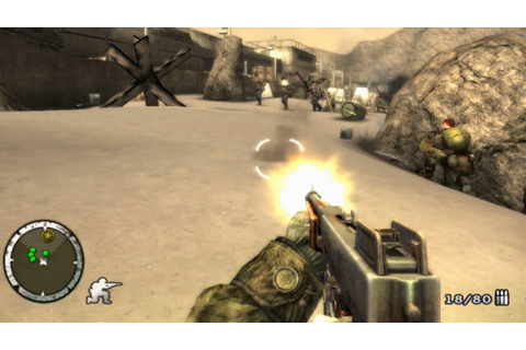 Medal of Honor: Heroes 2 Wii Gameplay HD - YouTube