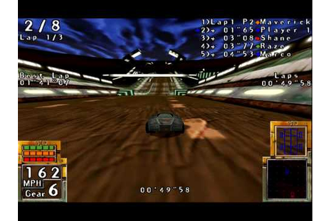 POD with emulated 3Dfx (dgVoodoo) - Race #1 (Track ...