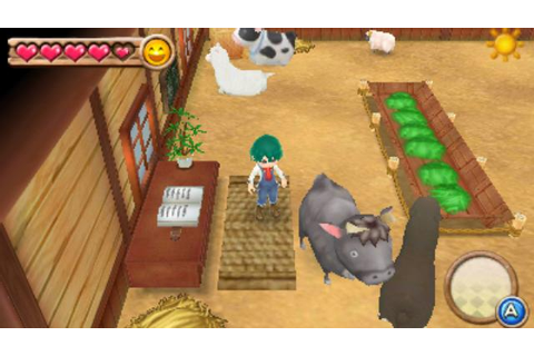 Harvest Moon: A New Beginning hands-on