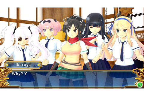 SENRAN KAGURA SHINOVI VERSUS - Gameplay PC - YouTube
