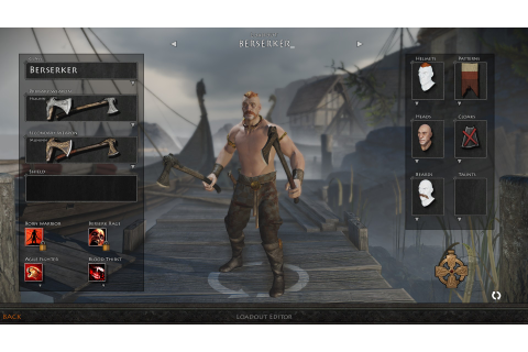 Dual-wielding beserker class added to War of the Vikings ...