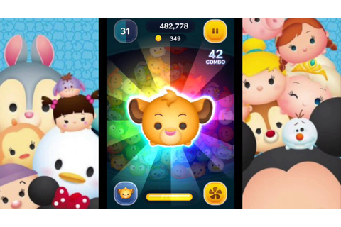 Simba Disney Tsum Tsum game/ios play day. - YouTube