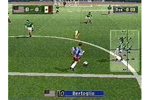 Sega Worldwide Soccer '97 Review for Sega Saturn (1996 ...