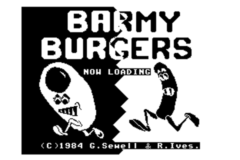 Download Barmy Burgers (Dragon 32/64) - My Abandonware
