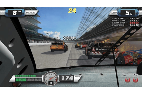 EA Sports NASCAR Racing arcade video game by Global VR (2007)