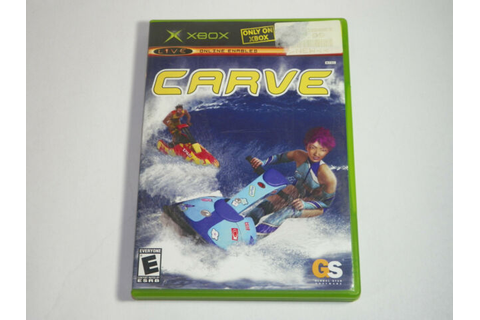 CARVE VIDEO GAME XBOX FREE SHIP | eBay