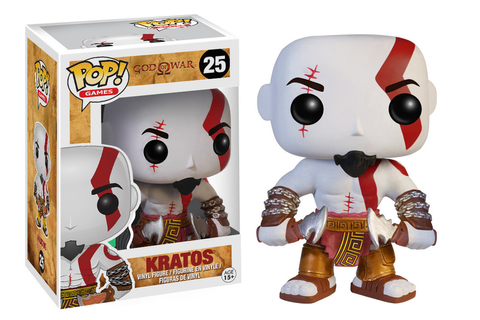 Funko Pop Games - God Of War: Kratos Vinyl Action Figure ...