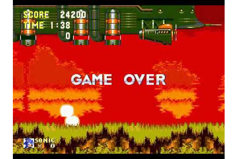 Sonic The Hedgehog 3 - Game Over - YouTube