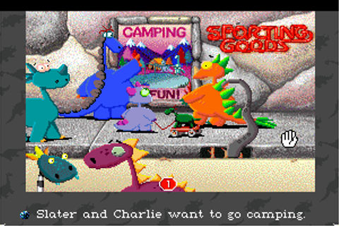 Download Slater & Charlie Go Camping - My Abandonware
