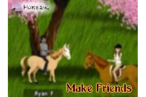 Horseland Game (www.horseland.com) - YouTube