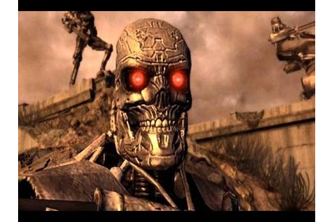 Terminator Salvation arcade game - YouTube