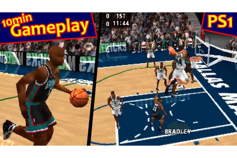 NBA Live 99 ... (PS1) 60fps - YouTube