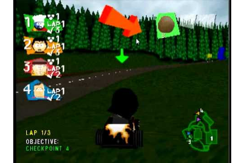 South Park Rally Gameplay [PS1] - YouTube