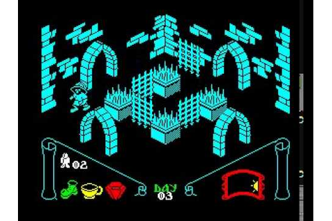 Knight Lore - ZX Spectrum - YouTube