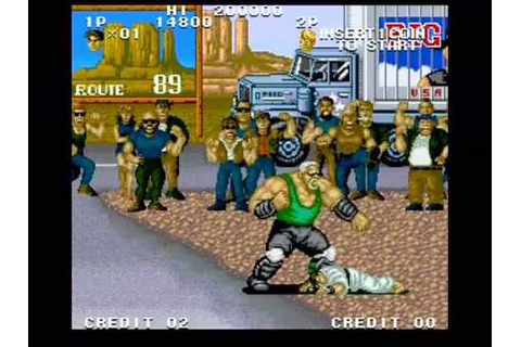 Street Smart: Gameplay Part 1 of 2 - SNK Arcade - YouTube