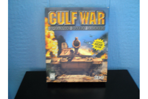 Gulf War: Operation Desert Hammer PC CD-ROM WIN 95/98 ...