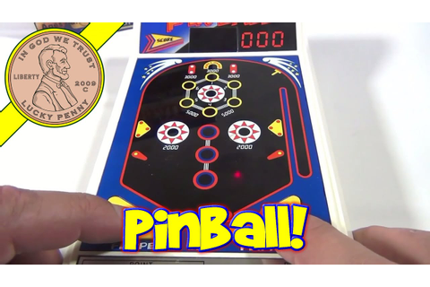 Tomy Vintage Electronic Handheld Power House Pinball Game ...