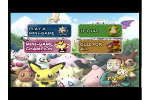 Pokemon Stadium 2- Mini Games Session 1 (1/4) - YouTube