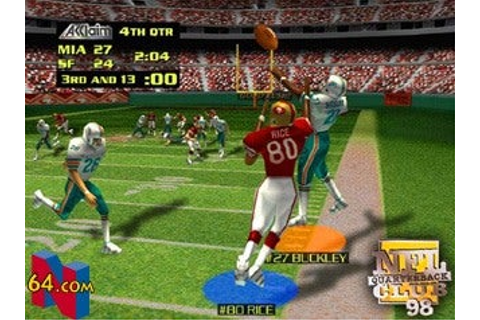NFL Quarterback Club 1998 Screenshots, Pictures ...