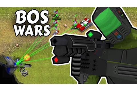 BOS WARS Gameplay (Free RTS) - YouTube
