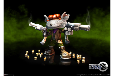 If junkrat was actually a playable character in Gungeon ...