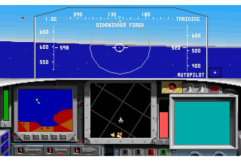 Download F-15 Strike Eagle II vehicle simulation for DOS ...