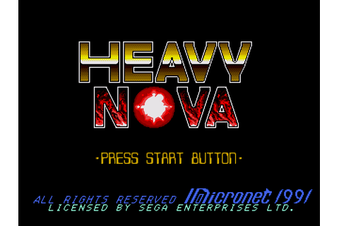 Heavy Nova Download Game | GameFabrique