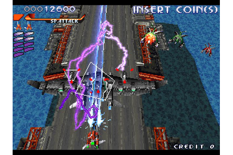 RayStorm (1996) Arcade game