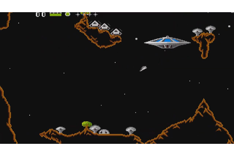 ATARI ST OIDS ROLLING DEMO & GAME PREVIEW FROM DISK ST ...