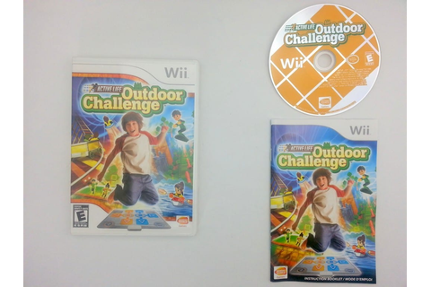 Active Life Outdoor Challenge game for Nintendo Wii ...