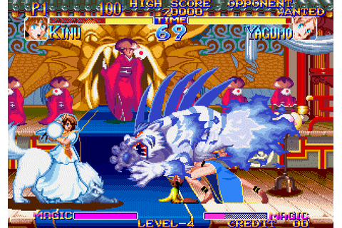 Far East of Eden: Kabuki Klash (1995) Neo-Geo game