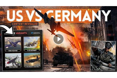 "More NEW ""US VS GERMANY"" Content Revealed in Battlefield 5!"