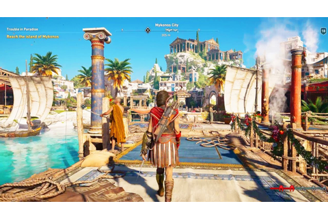 Assassin's Creed: Odyssey GAMEPLAY - YouTube