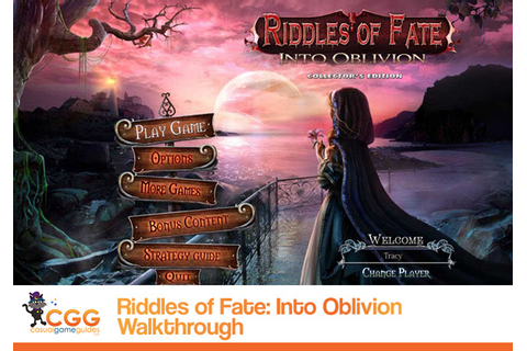 Riddles of Fate: Into Oblivion Walkthrough ...