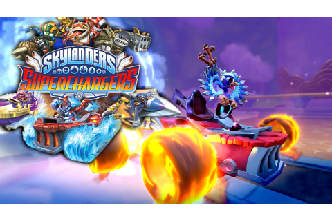 Skylanders SuperChargers Game-Play & Toy Reveal - YouTube