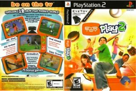 EyeToy: Play 2 Sony PlayStation 2 PS2 COMPLETE Eye Toy ...