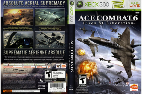 Games Covers: Ace Combat 6 Fires Of Liberation - Xbox 360