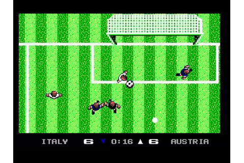 Microprose Pro Soccer (MS-DOS) - Gameplay - YouTube