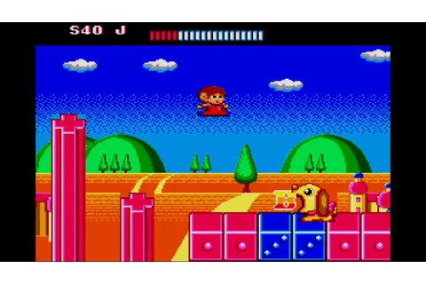Alex Kidd: The Lost Stars ... (Master System) 60fps - YouTube