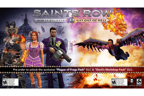 Saints Row IV: Re-Elected & Gat out of Hell | Game Preorders