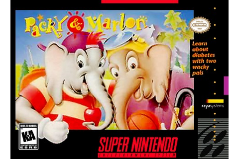 Packy and Marlan SNES Super Nintendo